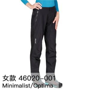 Marmot土拨鼠Optima/Minimalist男女GTX冲锋裤防水