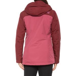 Marmot土拨鼠Solaris女款GTX冲锋衣滑雪服保暖棉服