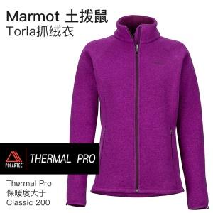 Marmot土拨鼠Torla女保暖抓绒Polartec Thermal Pro